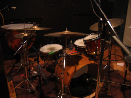 Bens Drum Set Up